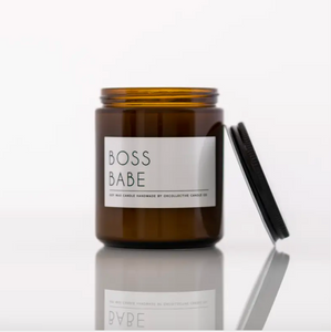 Okcollective Boss Babe Candle