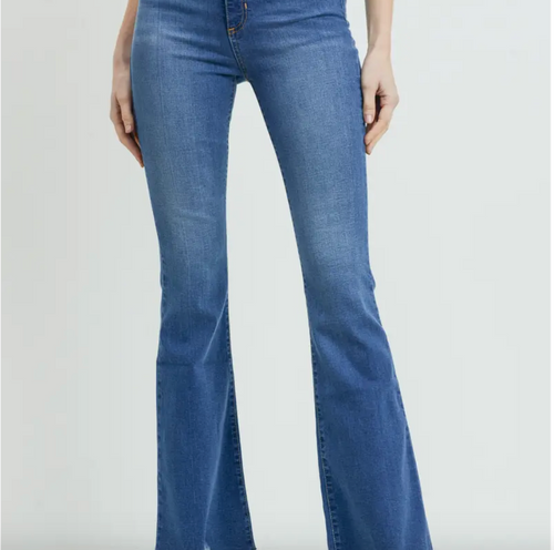 Luli High Rise Flare Jeans