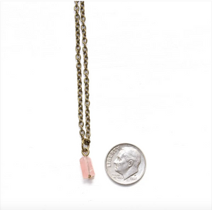 Rose Quartz Dainty Stacking Anklet