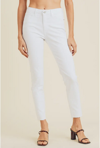 Marilyn White Skinnies