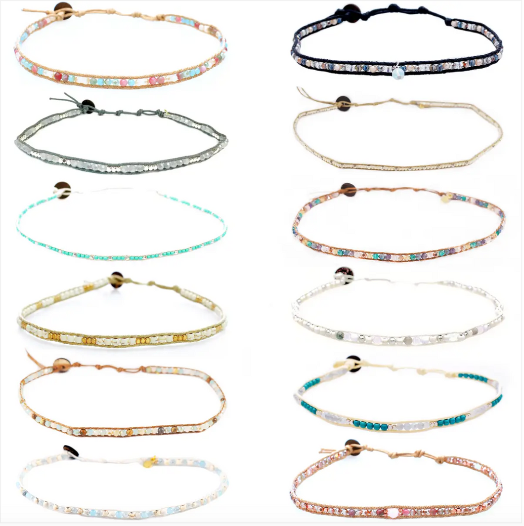 Choker/Double Wrap Bracelet - Assorted