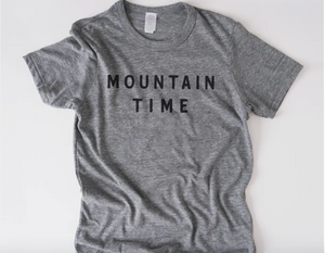 Mountain Time Unisex Tee