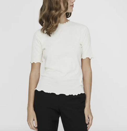 Birgit Top in Birch and Black