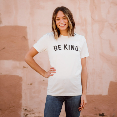 Be Kind Unisex Tee - Vintage White