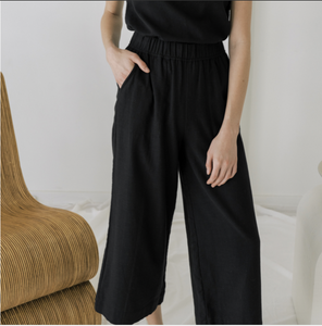 Laude the Label Everyday Crop Pant - Ink