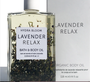 Lavender Relax Bath & Body Oil Organic