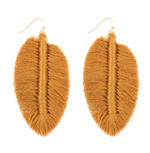 Thread Fringe Earrings