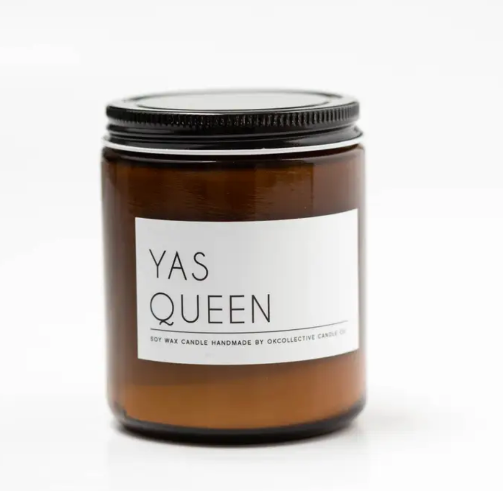 Okcollective Yas Queen Candle