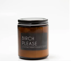 Okcollective Birch Please Candle
