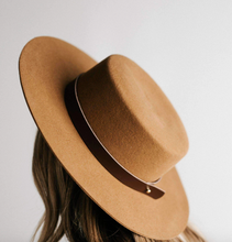 Gigi Pip Removable Leather Hat Band - Various Colors