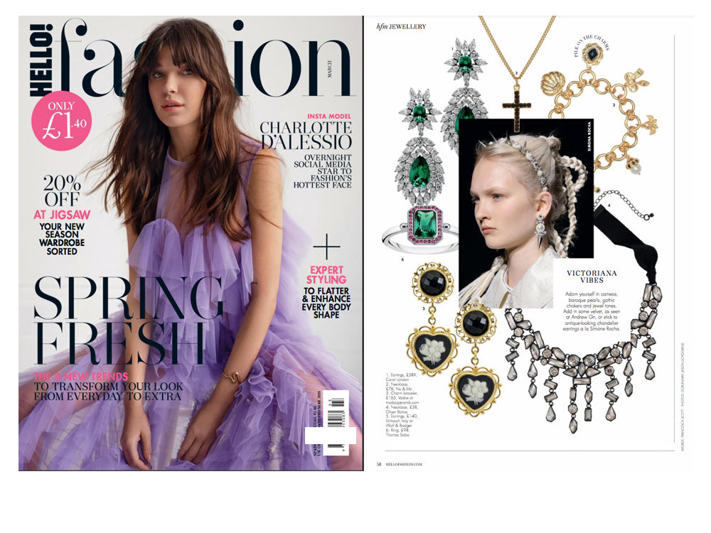 Vintouch Jewelry on Hello Fashion Magazine