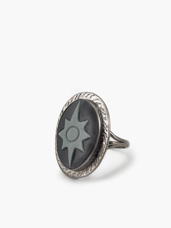 Polaris Cameo Ring by Vintouch Jewels.