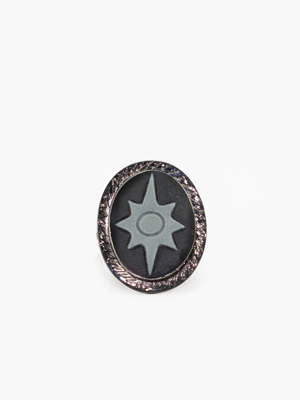 Polaris Cameo Ring