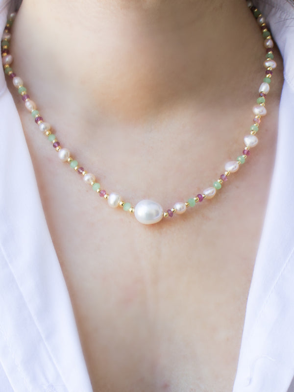 Sparkling Sea Multicolor Necklace