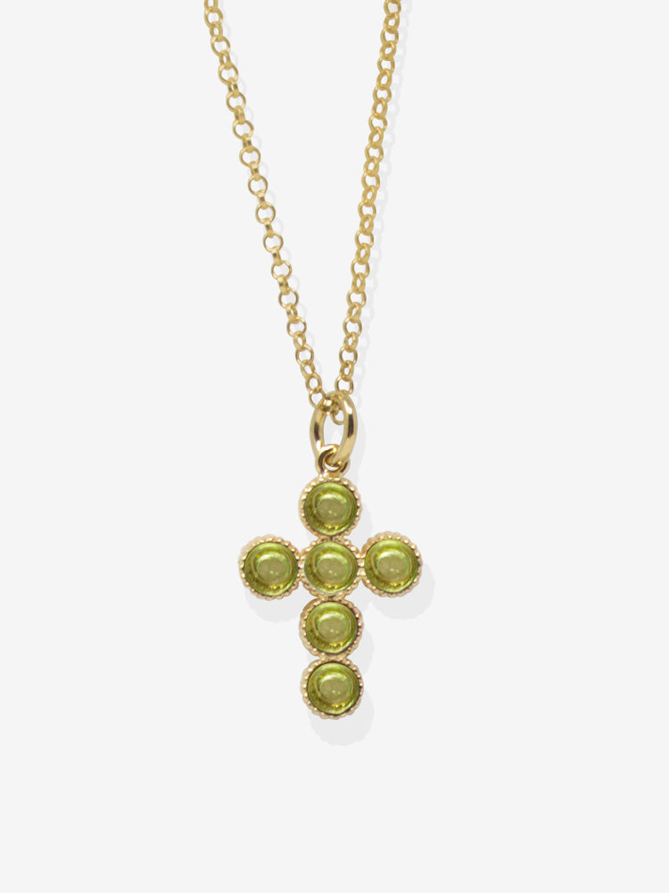 Hope Gold-plated Peridot Necklace