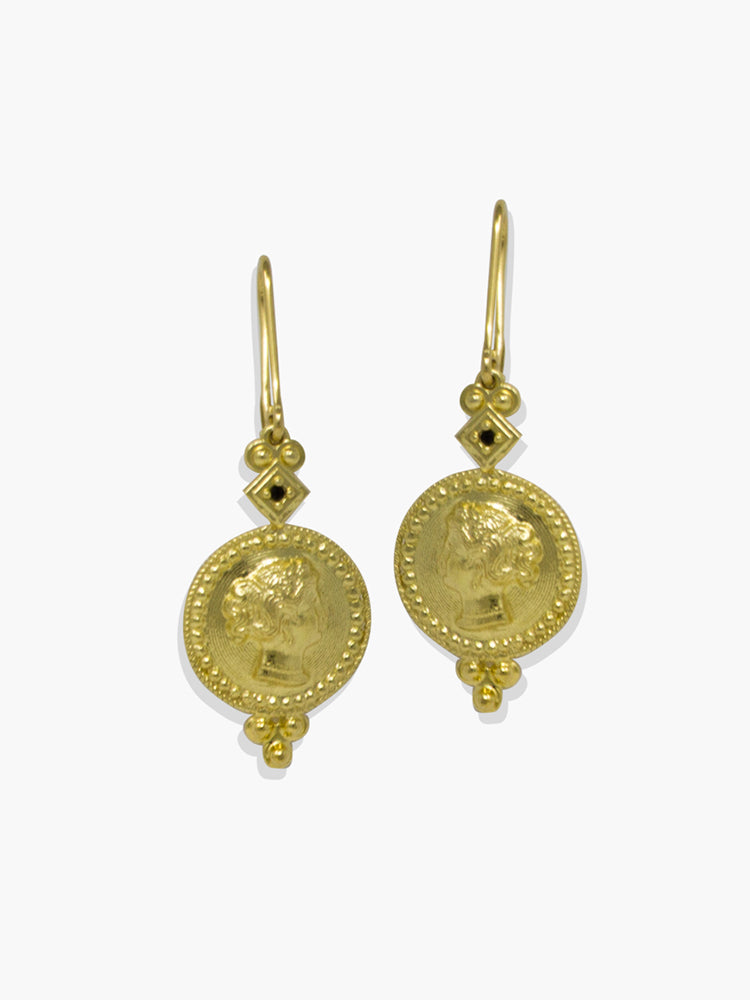 Gold-plated Cleopatra Earrings
