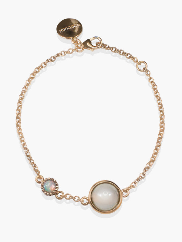 Satellite Moonstone & Opal Bracelet