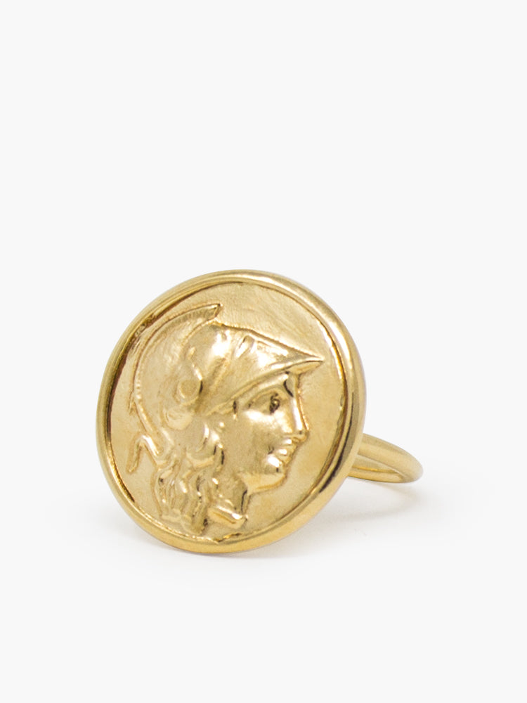 Athena Gold-plated Ring