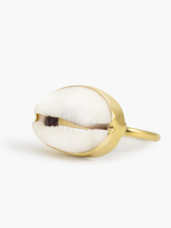 Cowrie Shell Ring | Vintouch Jewels