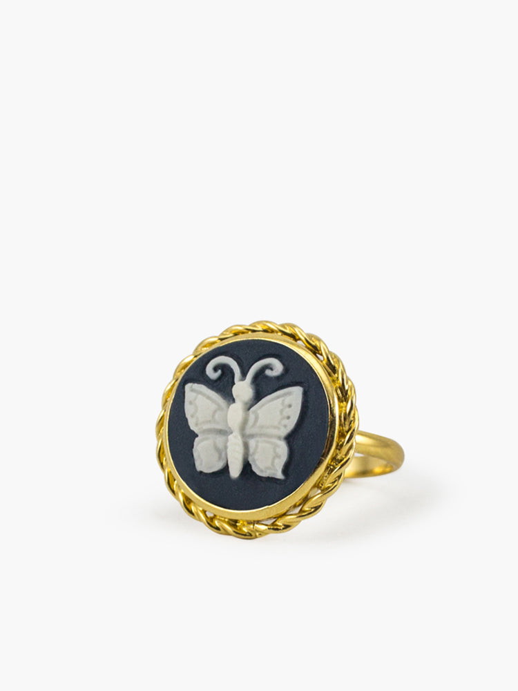 Vintouch Chrysalis Cameo Ring