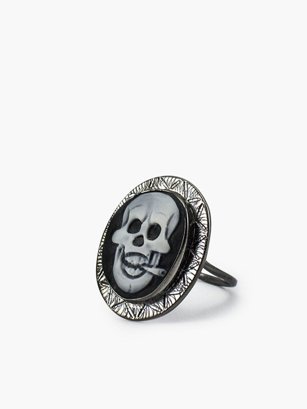 Vintouch Rocker Cameo Ring