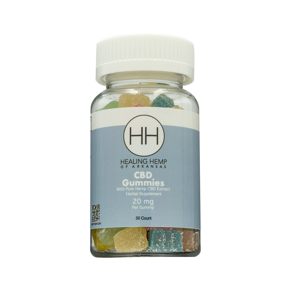 Healing Hemp 20mg Gummy 50ct 1000mg