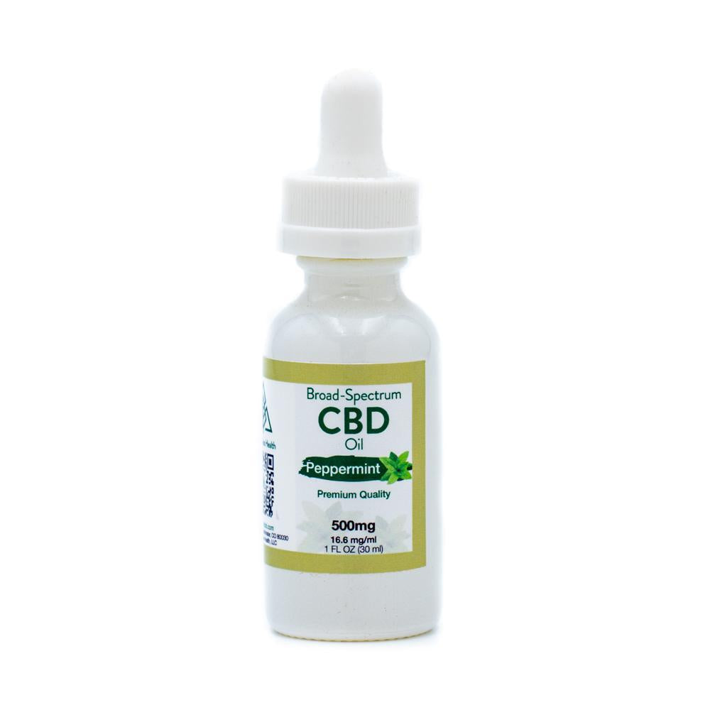 WCH 500mg Tincture Peppermint