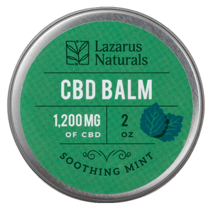 Lazarus Naturals Soothing Mint Balm 1200mg