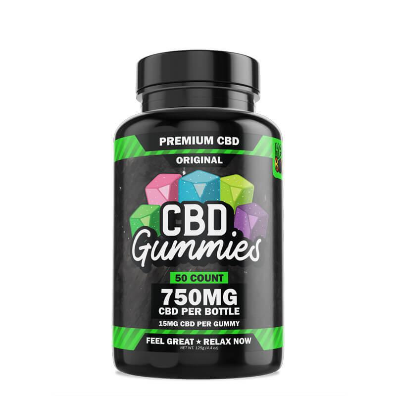 HEMP BOMBS | 15mg Gummy 50ct 750mg