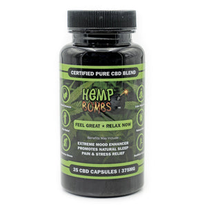 Hemp Bomb CBD Capsules 70ct 1050mg