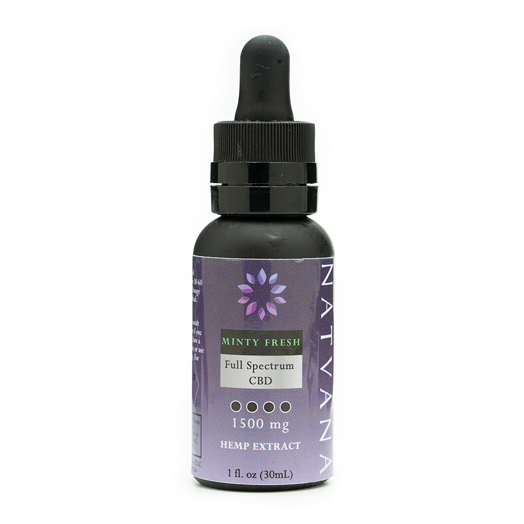 Natvana Minty Fresh FS Tincture 1500mg