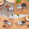 Tea Infuser Loose Leaf tea infuses Tumbler  Tea Strainer ball stainless steel with a hooks( 1pack Mug not included)