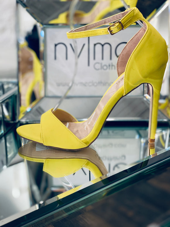 Eliana Yellow Heel