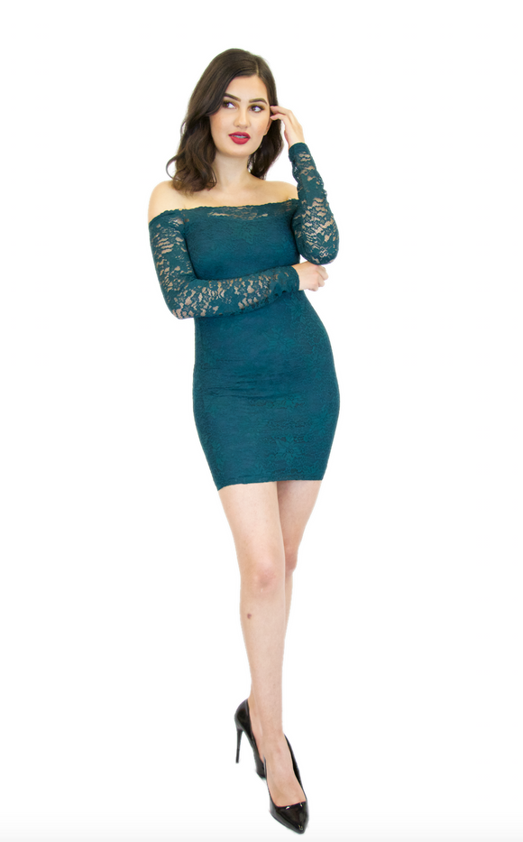 Maura Lace Dress