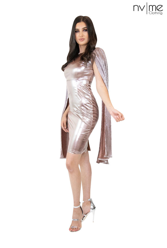 Charlotte Metallic Dress