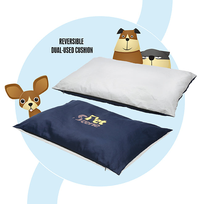 Comfortable Dog Bed Soft Warm Pet Bed Blanket Portable Non Slip Dog Mattress Bed
