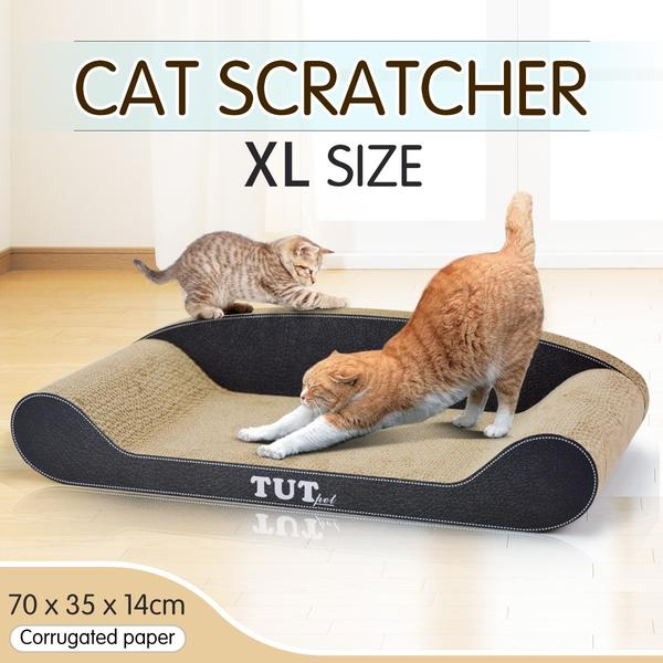 Practical Multi-Use Cat Scratching Post Kitty Environmentally Friendly Cat Scratch Corrugated Cardboard Cat Sofa Furniture Duplicate View Promote More actions