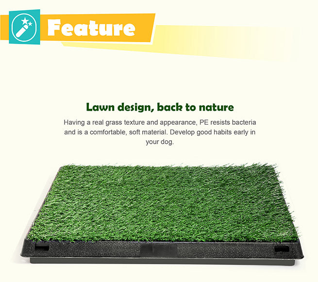 Indoor Pet Toilet Training Grass Dog - Large