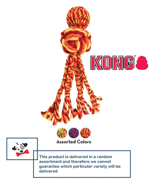 KONG Wubba Weaves with Rope