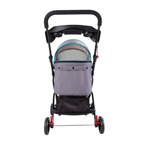 Image of Ibiyaya Easy Strolling Pet Buggy - Simple Gray