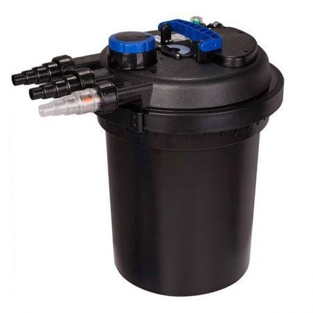 10000L/H Aqua Aquarium External UV Light Canister Filter and Media