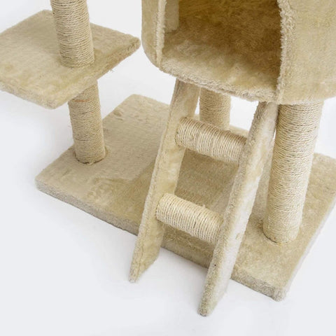 Image of 260cm Multi Level Cat Tree Scratching Post Scratcher - Paradise