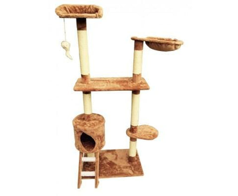 Image of 122 cm Cat tree Scratching Post Everyday Pets