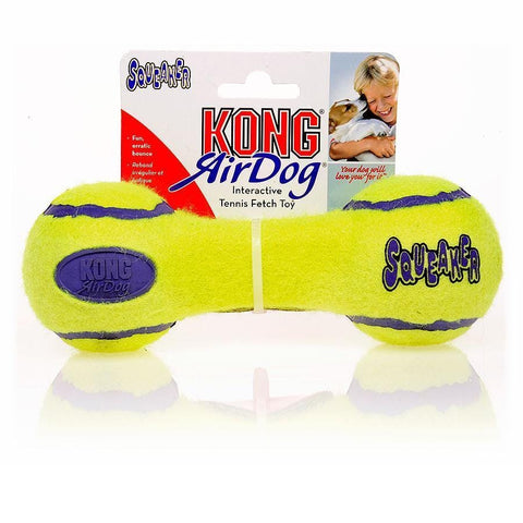 Image of KONG AirDog Squeaker Dumbbell