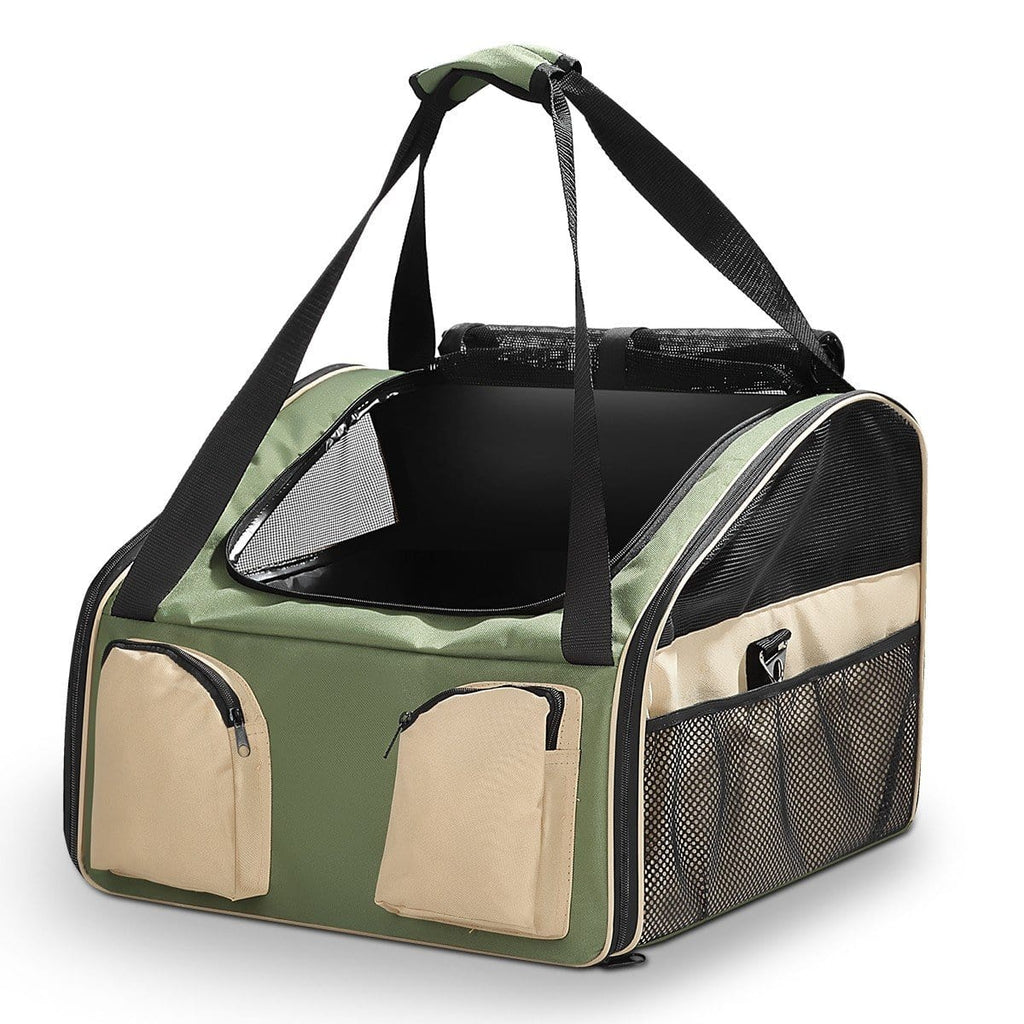 Portable Foldable Soft Covered Dog Crate