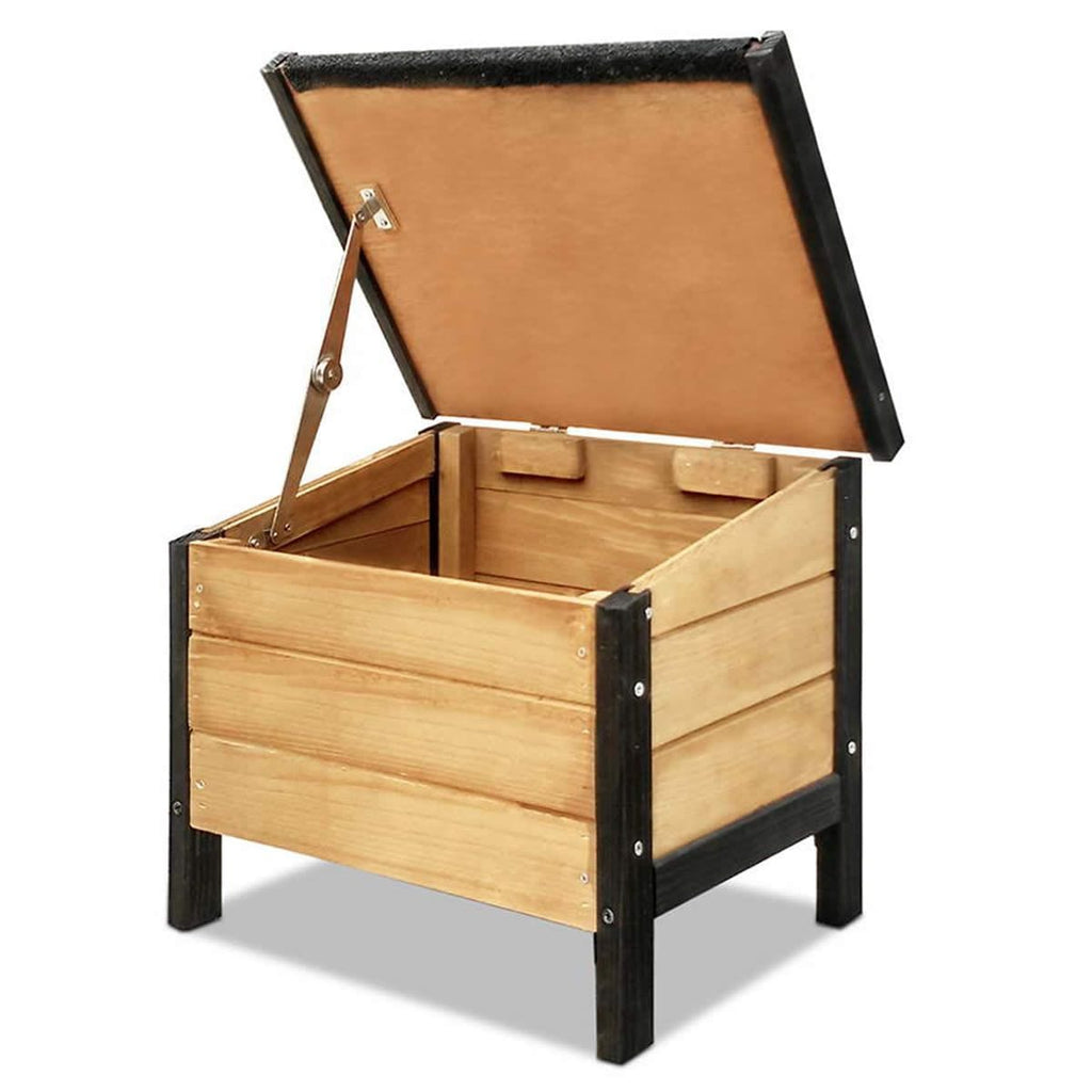 Wooden Kennel Storage Box