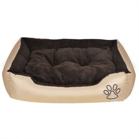Image of Warm Dog Bed with Padded Cushion