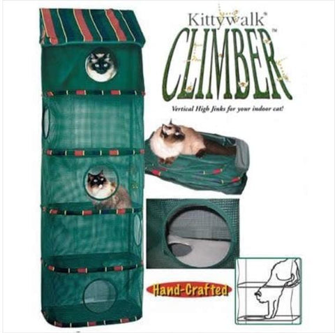 Image of Kittywalk Cozy Climber Handcrafted Indoor Hanging Cat Furniture