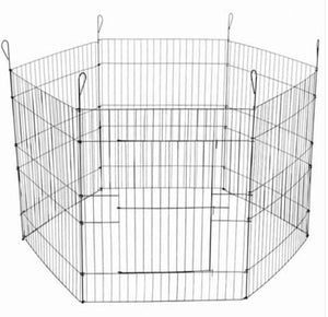 Paws N Claws Pet Playpen 6 Sides 63 x 60cm