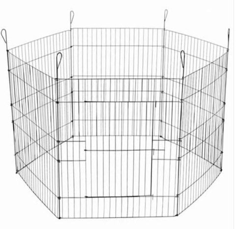 Image of Paws N Claws Pet Playpen 6 Sides 63 X 60Cm